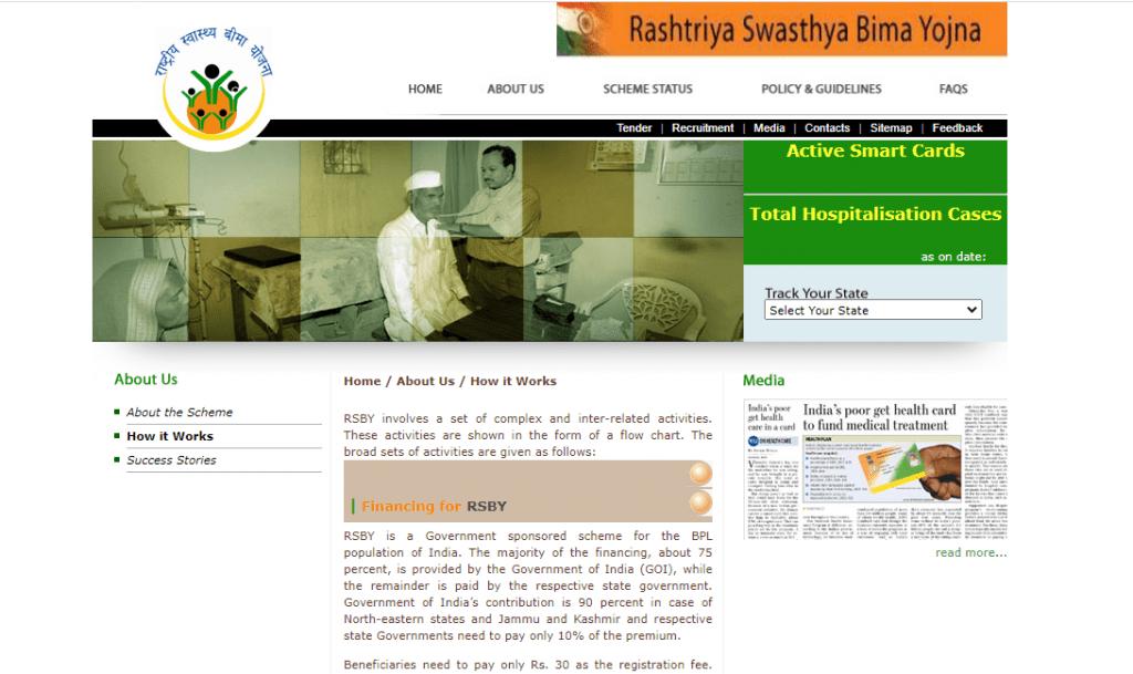 राष्ट्रीय स्वास्थ्य बीमा योजना (RSBY)  National Health Insurance Scheme
